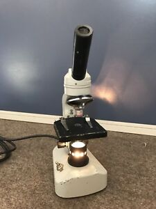 Allied Fisher Scientific Monocular Microscope