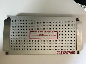 Synthes Dhs dcs Instruments Basic Set Tray only Tray