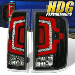 Red Led Tube Tail Lights Lamps For 2014 2015 2016 2017 2018 Chevy Silverado