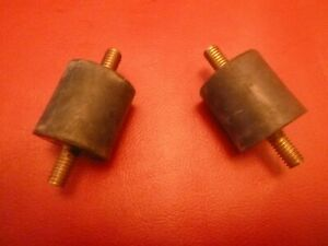 1948 54 Hudson 6 8 Cylinder Pair Of Center Drive Shaft Rubber Supports