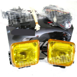1996 1998 Honda Civic Coupe 2dr Amber Driving Fog Lights Led Drl White Lamps