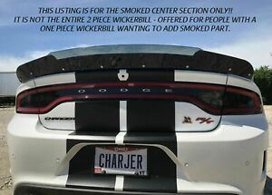Center Section For 2015 Dodge Charger For Psdesigns Wickerbill Spoiler