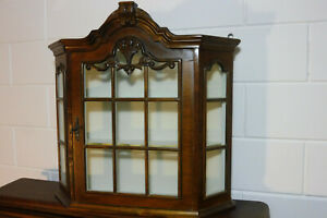 Dutch Antique Wall Cabinet Hanging Cabinet Cupboard Old Cabinet Nutwood