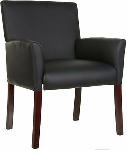 Executive Office Chair Reception Seating Visitor Black