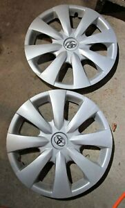 Toyota Corolla 2 15 Wheel Cover Hubcaps Fits 09 2013 Oem Free Shipping