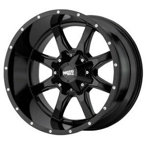 Moto Metal Mo970 Rim 22x12 6x135 6x139 7 Offset 44 Gloss Black quantity Of 4