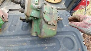 Hydraulic Lift Pump John Deere H Two Cylinder Tractor Used Part