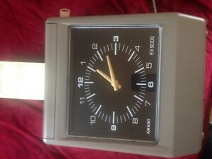 Amano Ex9000 Time Punch Clock
