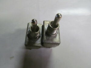 2 Mcgill 3 position Toggle Switches 6 Amp 125 V 3 Amp 250 V Made In Usa