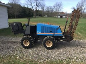 Ditch Witch 410 Sx Trencher Vibratory Plow