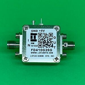 Frequency Divider prescaler Divide By 4 10 To 26 Ghz Fd410g26g