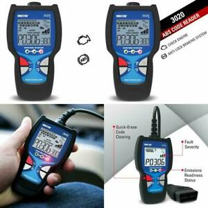Diagnostic Code Reader Scanner Tool Check Engine With Abs For Obd2 Vehicles