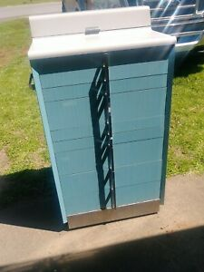 Dentist Dental Cabinet Art Deco Mid Century Modern Storage Vintage Antique