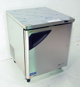 Turbo Air Tuf 28sd n 28 Stainless Steel Undercounter Freezer