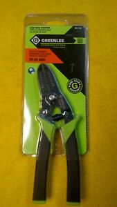 Lot Of 2 Greenlee Wire Strippers 10 20 Awg New