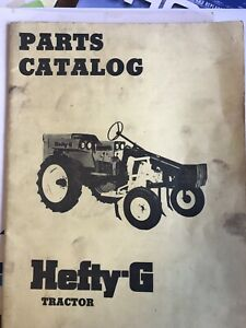 Hefty G Tractor Manuals Rare Originals Haxco