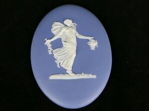 American Antique 6 3 8 X 4 1 2 Hartford Porcelain Jasperware Style Cameo Plaque