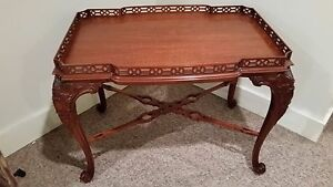 Stickley John Widdicomb Jw 7324 Classics Collection Tea Table