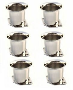 6 X New Velocity Stacks Air Horn Pipe Trumpet Slides For Weber 40 44 48 Idf
