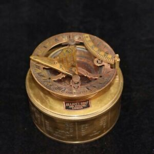 Chinese Old Copper Collection Compass Survival In The Wild Outdoor Sports Ad