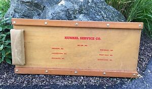 Vintage Mechanic s Creeper Kunkle Service Company Maryland Md Aberdeen Bel Air