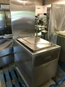 Lucks G1826 Natural Gas Deep Fat Donut Fryer W filtration 80 000 Btu hr 120 Volt