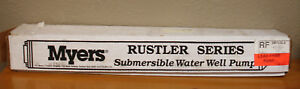 Myers 3nfl52 8 Rustler 3 wire Submersible Pump 1 2 Hp 230v