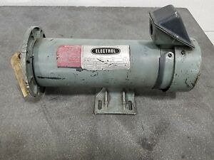 Electrol M 4621 90v Dc Electric Motor 1hp 1725rpm 2385sr