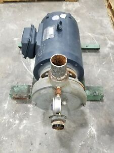 25 Hp 3 Phase Industrial Burks Water Trash Pump 3061sr