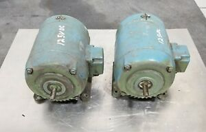 Emw 125v Dc Electric Motors 3407sr