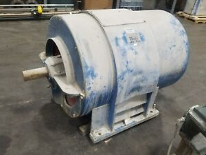 Westinghouse 500 Hp Electric Motor Cwf34e 887 Rpm 4160v 3554sr