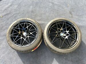 Bmw M3 M4 Wheels Tires 9 5 10 5 M3 Competition 666 Oem Factory Rare 19 20