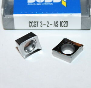 Ccgt 3 2 as Ic20 Iscar 10 Inserts Factory Pack