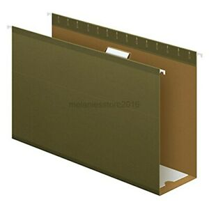 Pendaflex Extra Capacity Reinforced Hanging File Folders 4 Legal Size