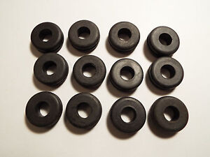 12 Rubber Grommets fits 5 8 Panel Hole With 3 8 Inner Hole