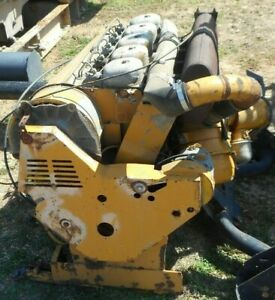 Deutz F5l912 F5l 912 Diesel Engine Out Of A Leaf Vac Engine Only We Can Ship