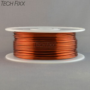 Magnet Wire 15 Gauge Awg Enameled Copper 350 Feet Generator Coil Winding 200c