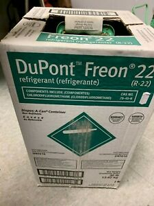 R22 Freon R 22 Refrigerant 27lbs Boxed Bottle Free Shipping