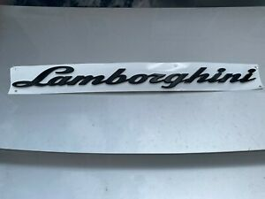 Lamborghini Urus Genuine Brand Painted Gloss Black Emblem Oem