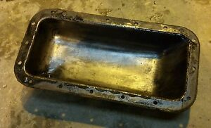 Allis Chalmers G Tractor Original Ac Engine Motor Oil Pan Massey Pony Harris