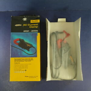 New Fluke I200 Ac Current Clamp Original Box