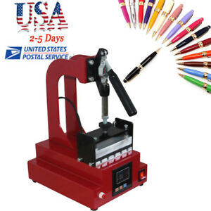 Digital Ballpoint Pen Heat Transfer Machine Pen Heat Press Machine Printing Lcd