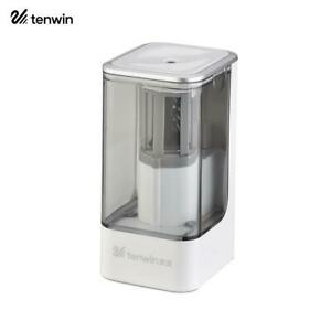 Tenwin Automatic Electric Pencil Sharpener Heavy Duty Auto Stop For Office Home