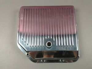 Chevy gm Polished Aluminum Pan For Turbo Th 350 Transmission Trans Tranny Th350