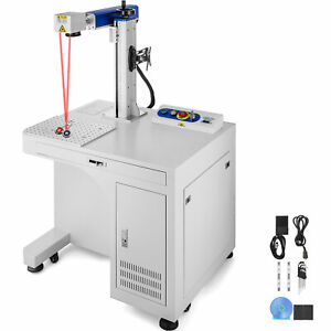 Fiber Laser Marking Machine 30w Cabinet Type Novel Design Cnc Metal