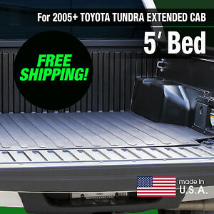 Boomerang Rubber Bed Mat For 2005 Tacoma Extended Cab 5 Ft Bed Free Shipping