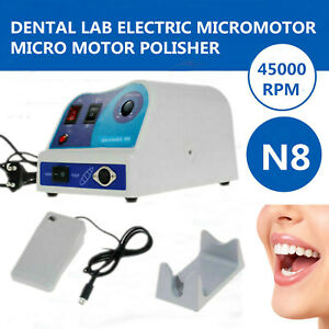 45k rpm Electric Micro Motor Dental Lab Marathon Polishing Machine Micromotor N8