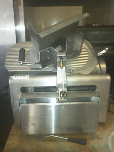 Globe 4875v Meat Slicer As Is