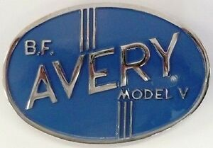 Model v Grill Medallion B F Avery