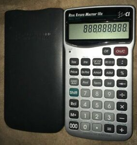 Calculated Industries Real Estate Master Iiix 3405 Scientific Calculator Guc